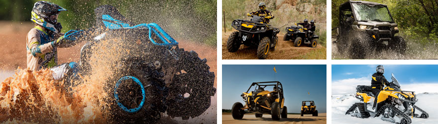 ATV + Quad + UTV Can-Am (Bombardier BRP)