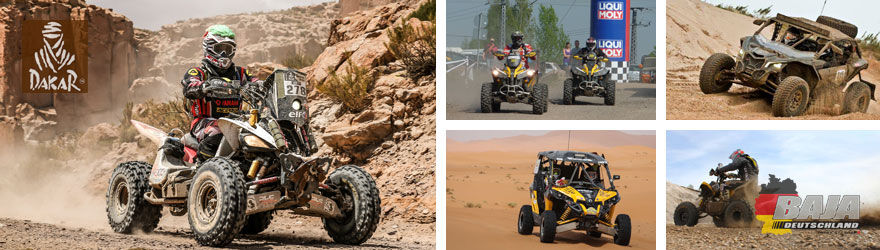 Rallye Dakar Quad Side-By-Side Baja